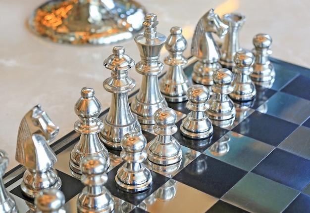 Jogo de xadrez, conceito líder
