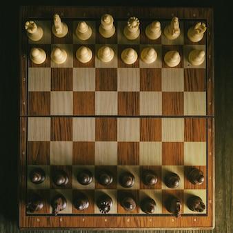 Jogo de xadrez deixe a guerra começar