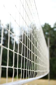 Jogo esportivo de rede de vôlei