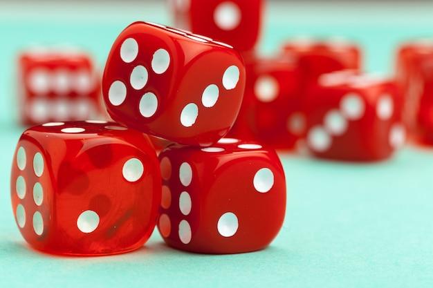 Jogos de dados. conceito de jogo.