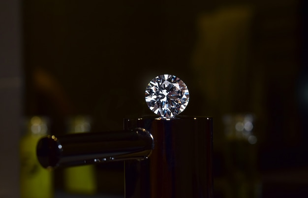 Joias com diamantes