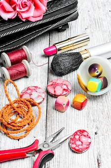 Jóias e artesanato