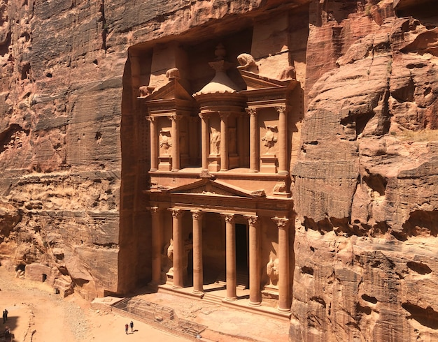 Jordânia, petra, cidade antiga de nabatean. património mundial da unesco.