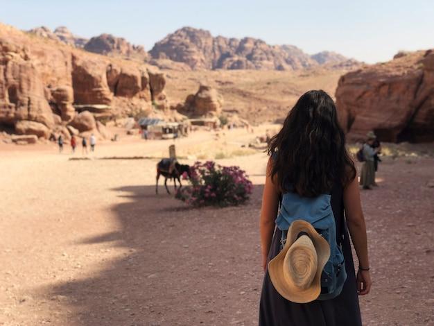 Jordânia, petra, cidade antiga de nabatean.