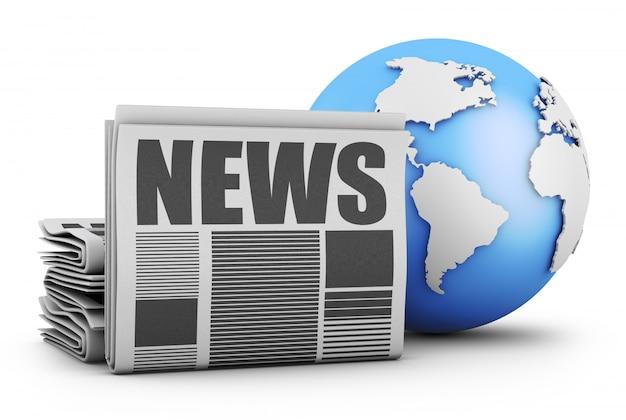 Jornal e globo