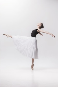 Jovem bailarina clássica