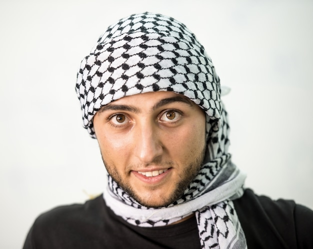 Jovem estudante palestino