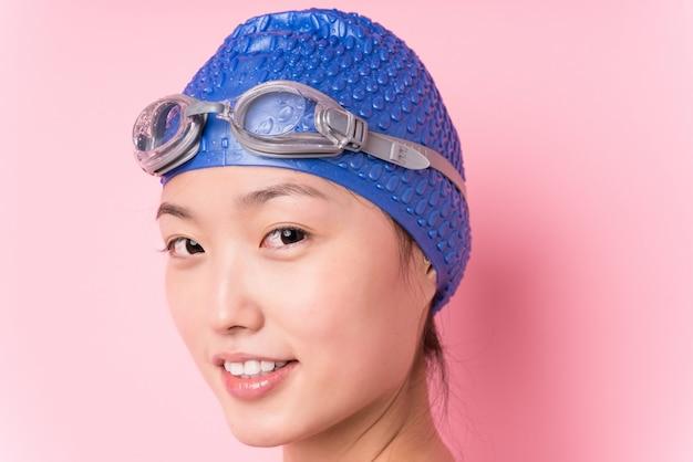 Jovem nadador japonês