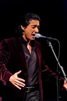 Juan valderrama em concerto