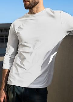 Jumper masculino de roupas de moda de rua