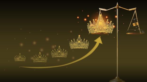 Justiça é padrão para justiça e juiz em todos os eventos de concurso de concurso de beleza. então, o vencedor do martelo e da coroa de diamantes está na escala de balanço de libra para pontuação justa e justa por votação online e classificação de satisfação