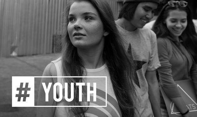 Juventude cultura jovem adulto geração adolescentes