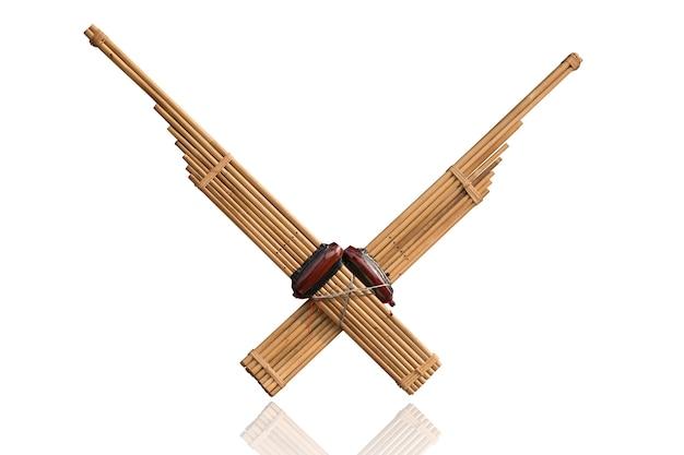 Kan tailandesa-lao cana-de-boca órgão tradicional instrumento musical tradicional usado em música folclórica esan