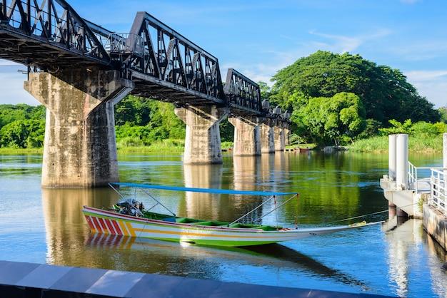 Kanchanaburi (tailândia), a ponte sobre o rio kwai