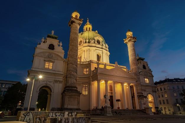 Karlskirche ou igreja de são carlos