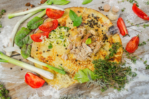 Kebab ou giroscópios pita