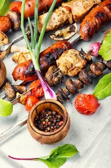 Kebab shish turco