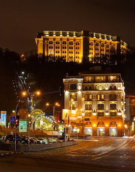 Kiev - praça poshtova - ucrânia