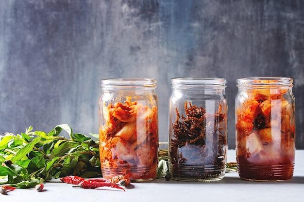 Kimchi aperitivo coreano