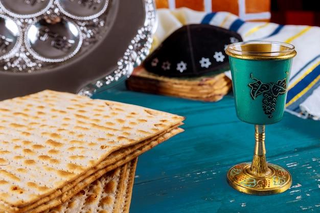 Kippa um pequeno chapéu judeu pesah feriado judaico