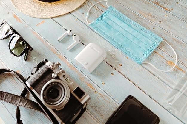 Kit de férias de verão 2020 para viajantes estilo vintage
