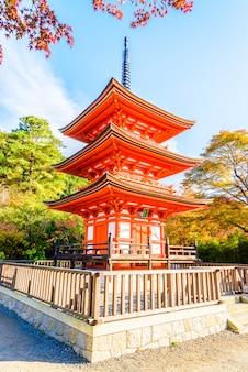 Kiyomizu dera templo em kyoto no japão