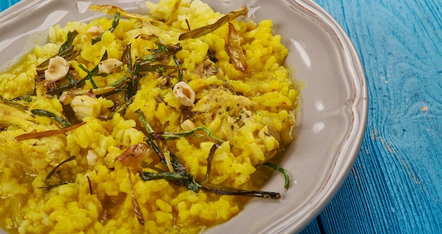 Kozhikodan malabar chiken biryani, estilo de kerala