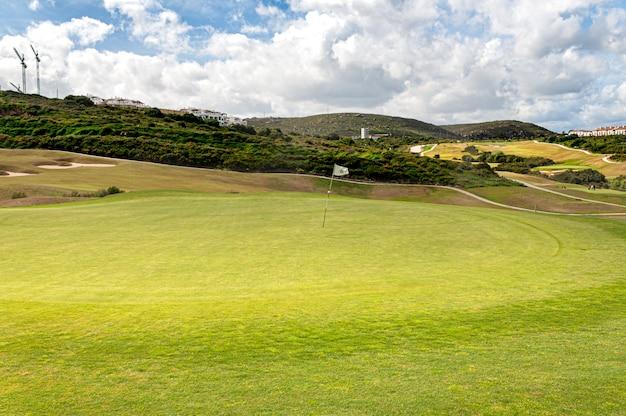 La alcaidesa golf e links no sul da espanha