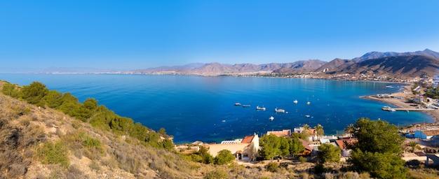 La azohia beach murcia no mediterrâneo espanha