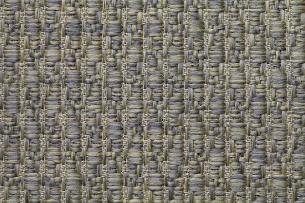 Lã de malha verde com um padrão de lã macia