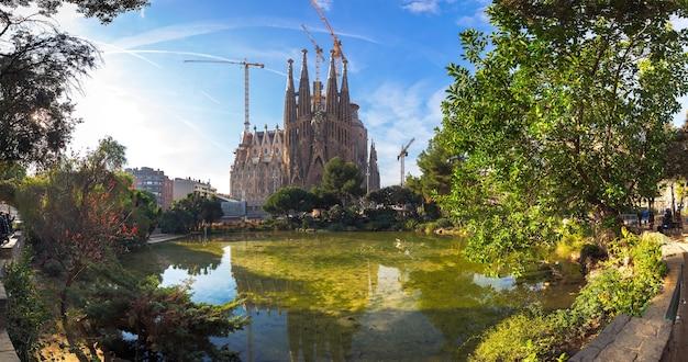 La sagrada familia em barcelona