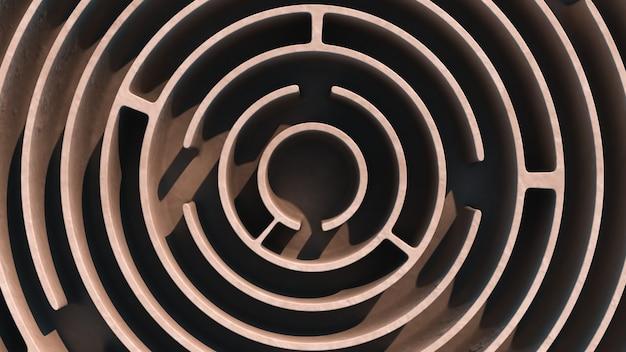Labirinto circular