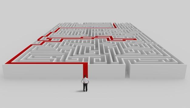Labirinto e solução