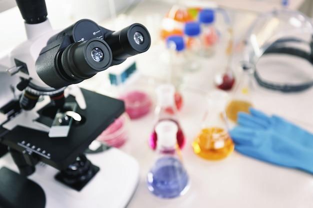 Laboratório de pesquisa científica e de saúde