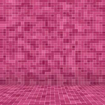 Ladrilho de piso de vidro abstrato de luxo doce pastel tom de parede mosaico de vidro padrão sem emenda