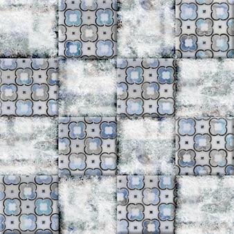 Ladrilhos cerâmicos decorativos com brilho e textura de pedra natural. elemento perfeito para design de interiores. textura de fundo