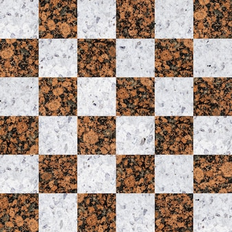 Ladrilhos de granito colorido. mosaico de pedra natural.