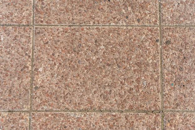 Ladrilhos vermelhos. textura de pedra natural e fundo de superfície