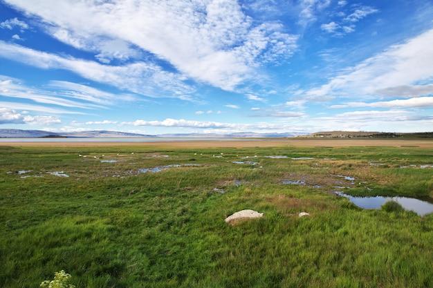 Lago argentino em el calafate, patagônia, argentina