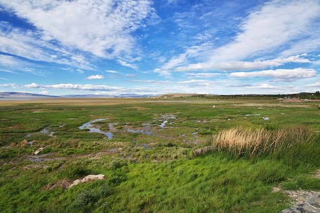 Lago argentino em el calafate