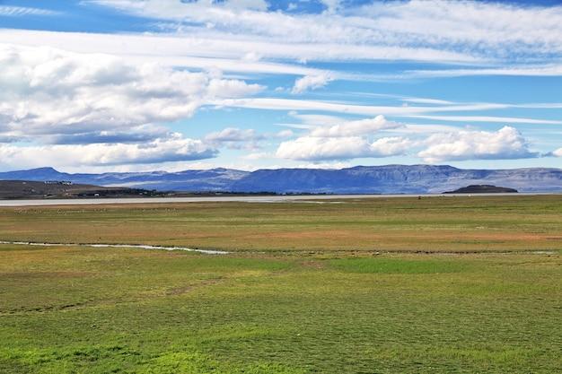 Lago argentino perto de el calafate na patagônia, argentina