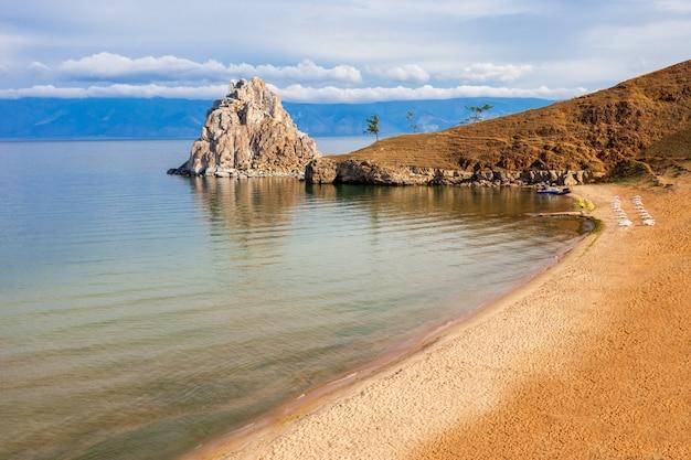 Lago baikal na sibéria
