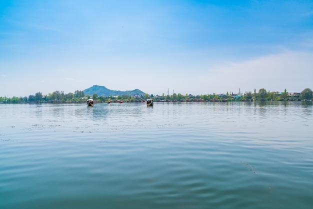 Lago dal, caxemira índia