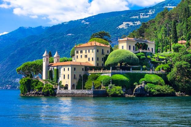 Lago di como romântico.