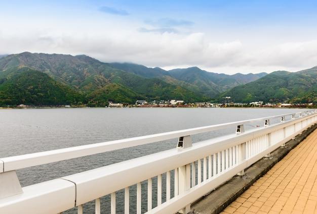 Lago kawaguchiko no japão