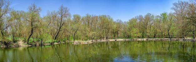 Lago na reserva askania-nova na ucrânia