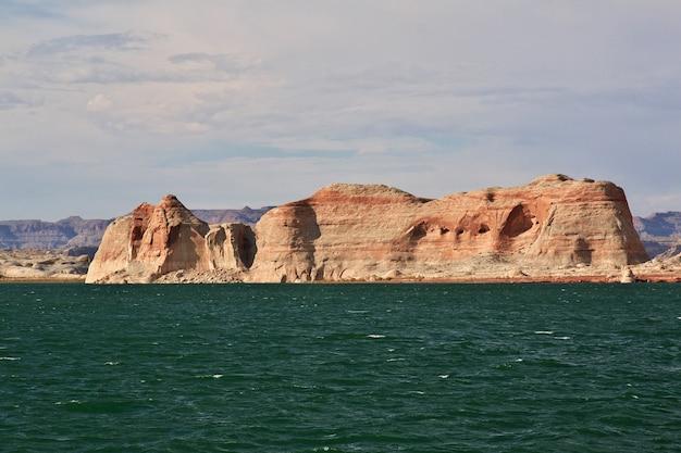 Lago powell no arizona, paige, eua