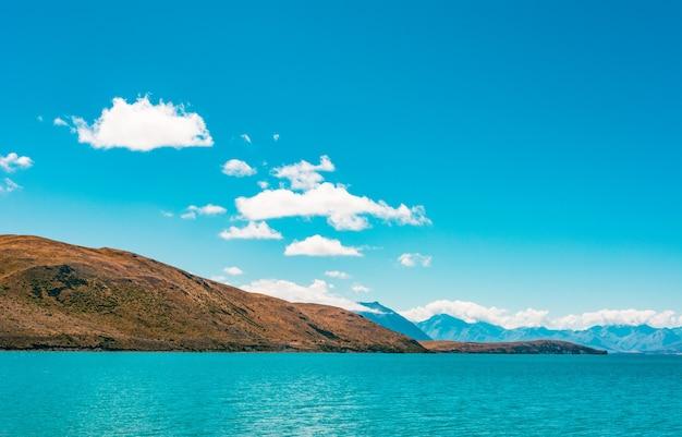 Lago tekapo nova zelândia