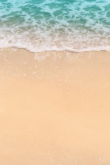 Lagoa azul do oceano