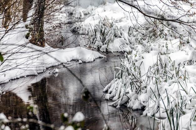 Lagos de inverno plitvice